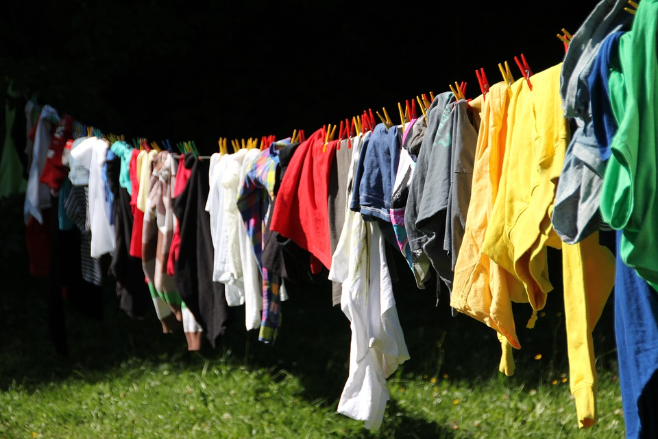 Make your house smell good-clean laundry