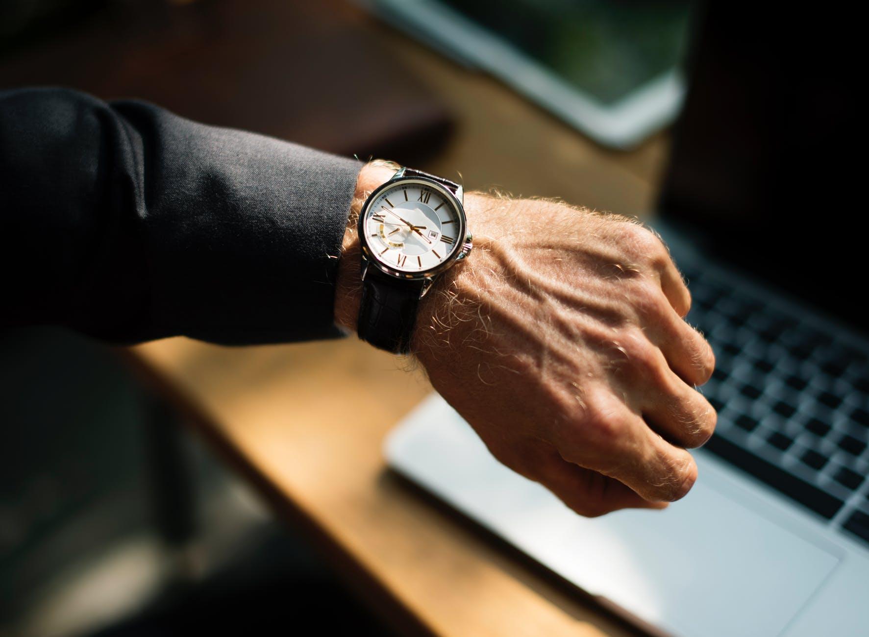 Revive watch using nail polish remove